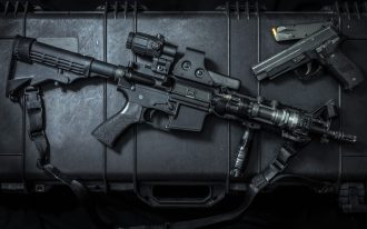 ar-15 rifle setup