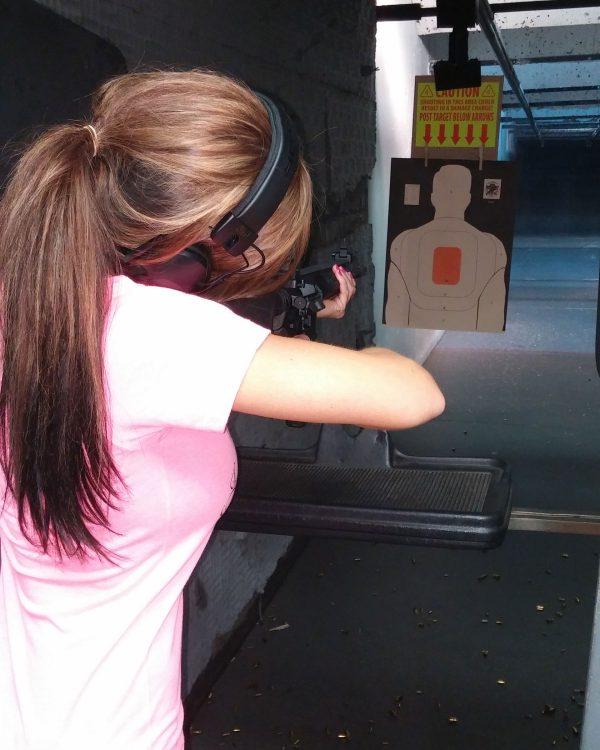 Caswells Women Rifle Range