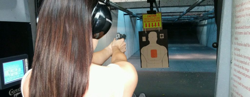 Caswells-Women-shooting-range