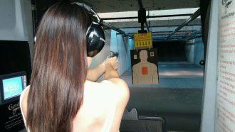 Caswells-Women-shooting-range